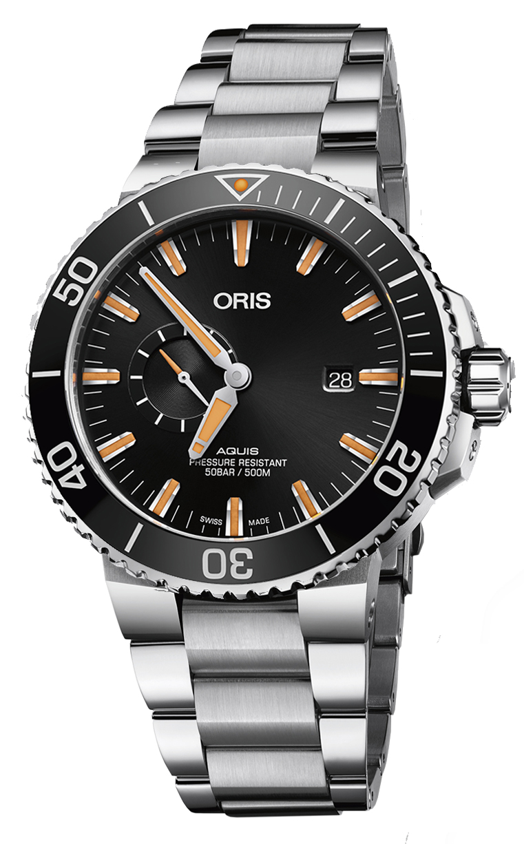 Oris Diving Aquis Small Second 743.7733.4159 MB 8.24.05PEB