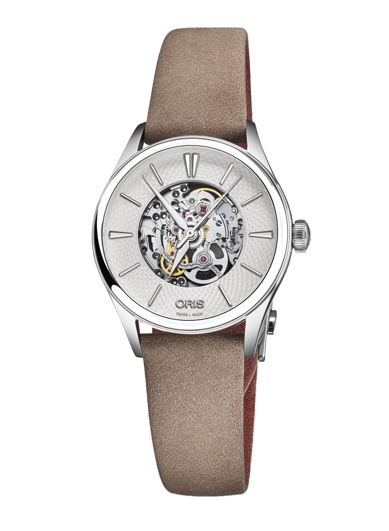 Часы Oris Culture Artelier Skeleton 560.7724.4051 LS 5.17.33FC