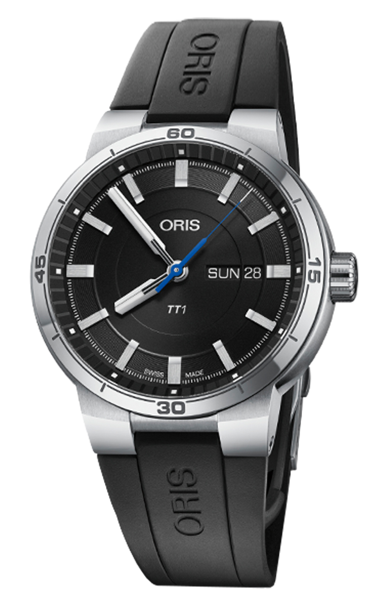 Часы Oris Motor Sport TT1 Day Date 735.7752.4154 RS 4.24.06FC