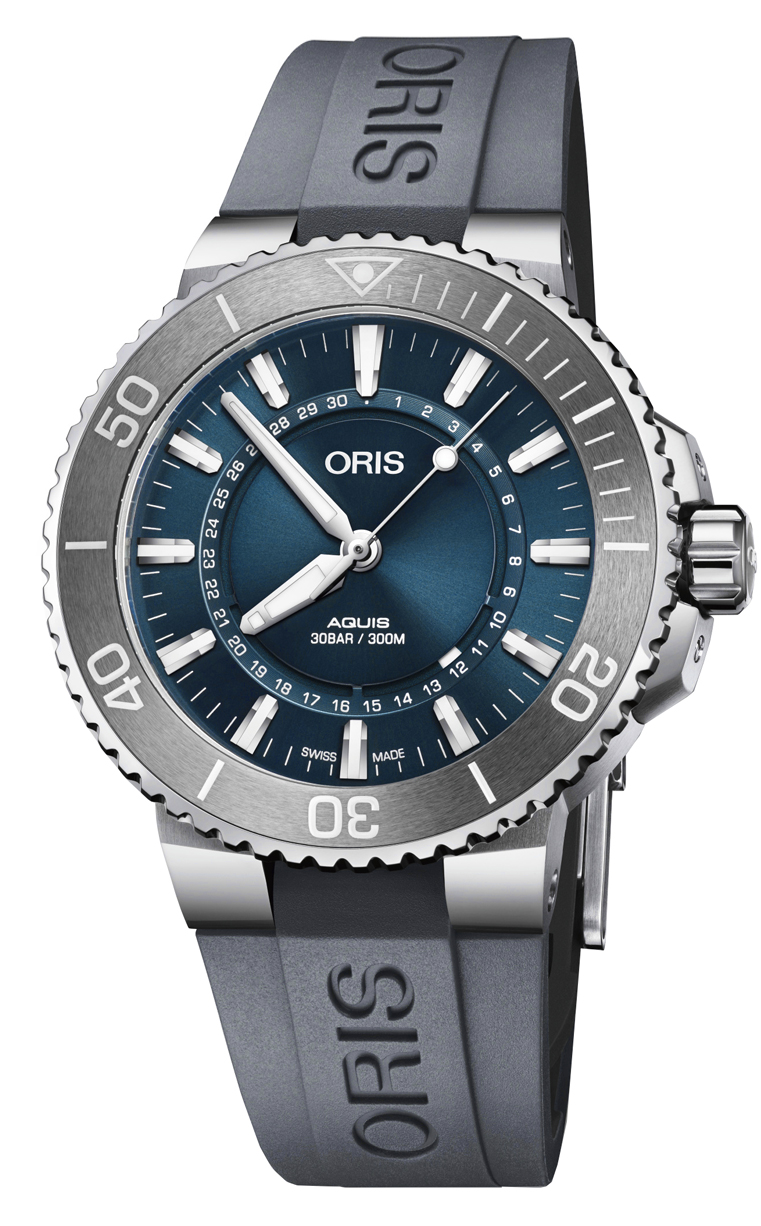 Часы Oris Diving Aquis Source of Life L.E. 733.7730.4125 Set RS