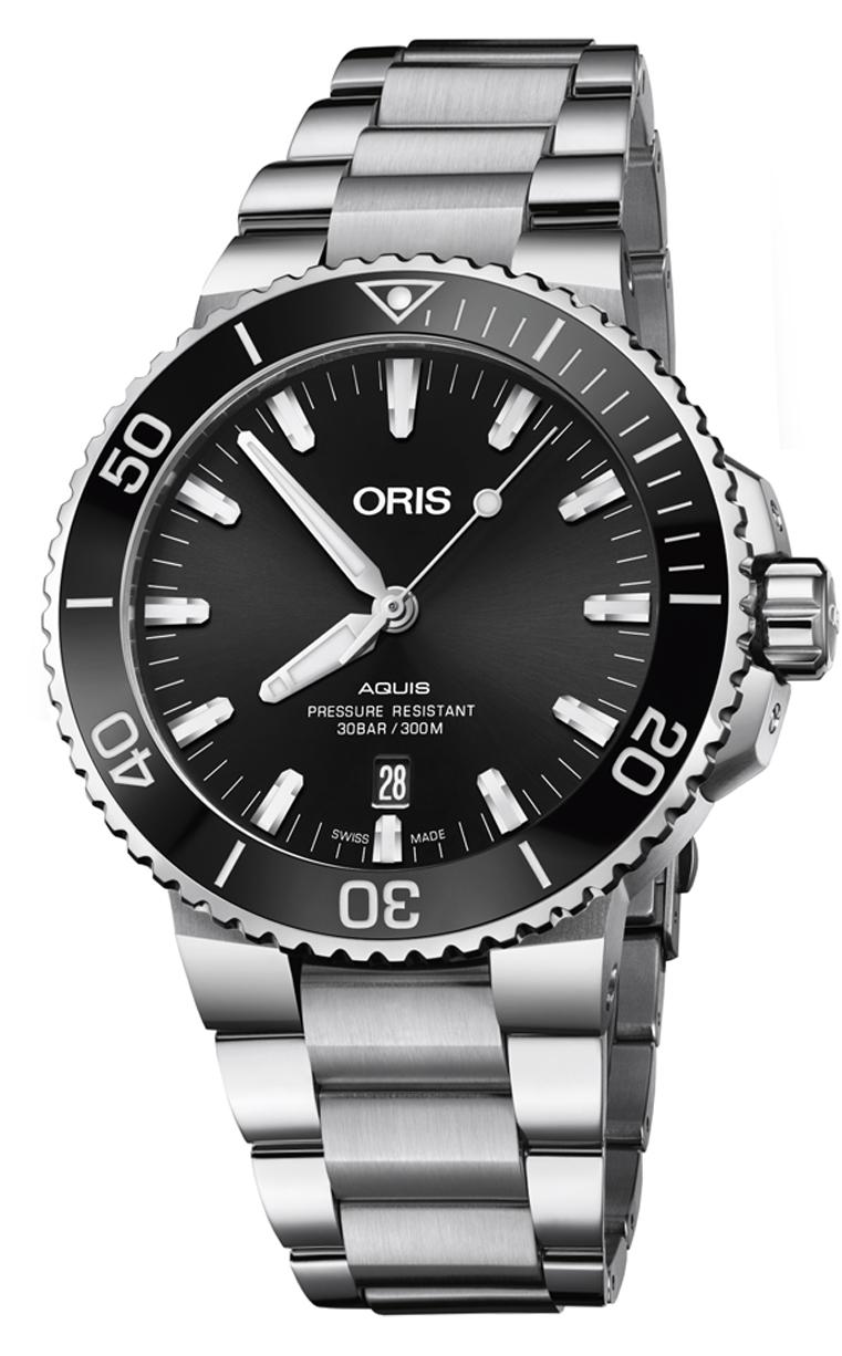 Часы Oris Diving Aquis Date 733.7730.4134 MB 8.24.05PEB