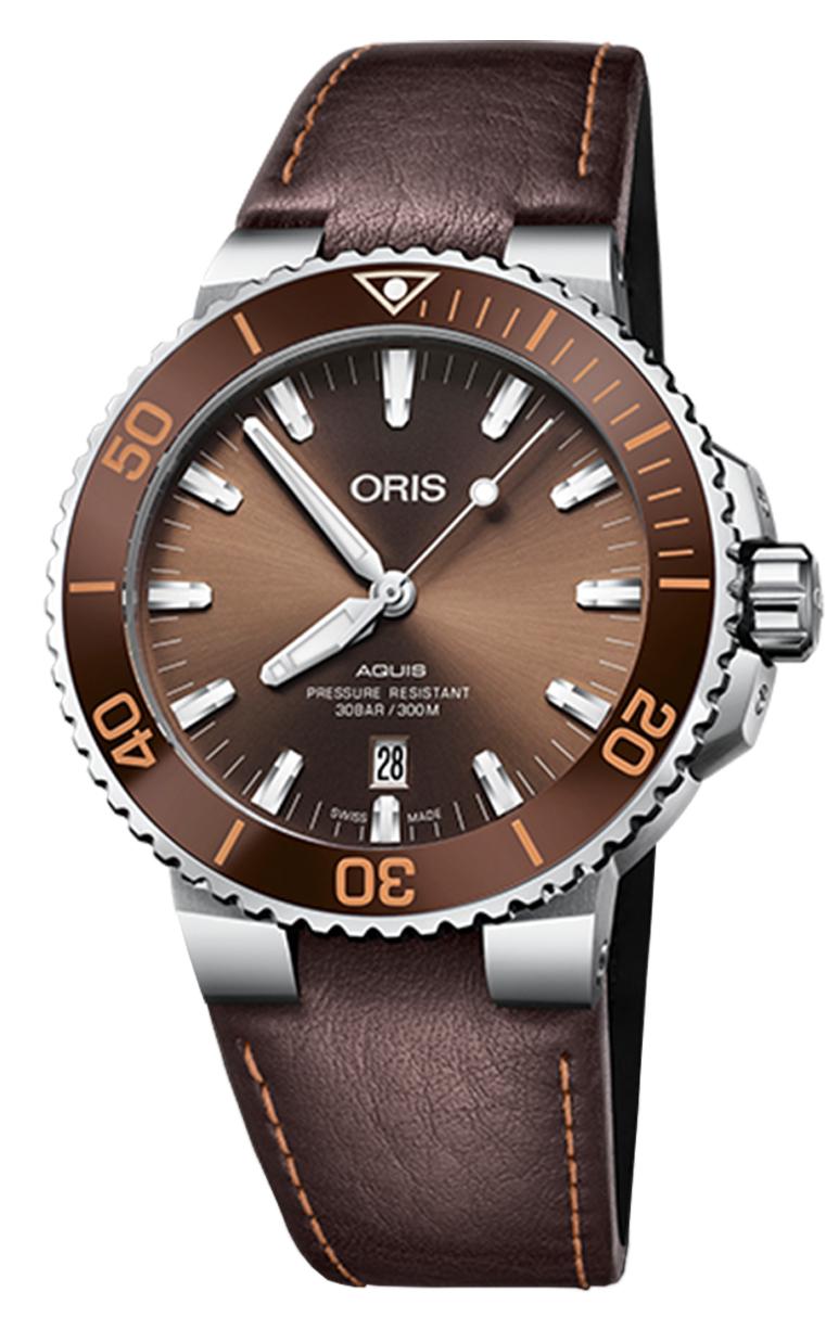 Часы Oris Diving Aquis Date 733.7730.4152 LS 5.24.12EB
