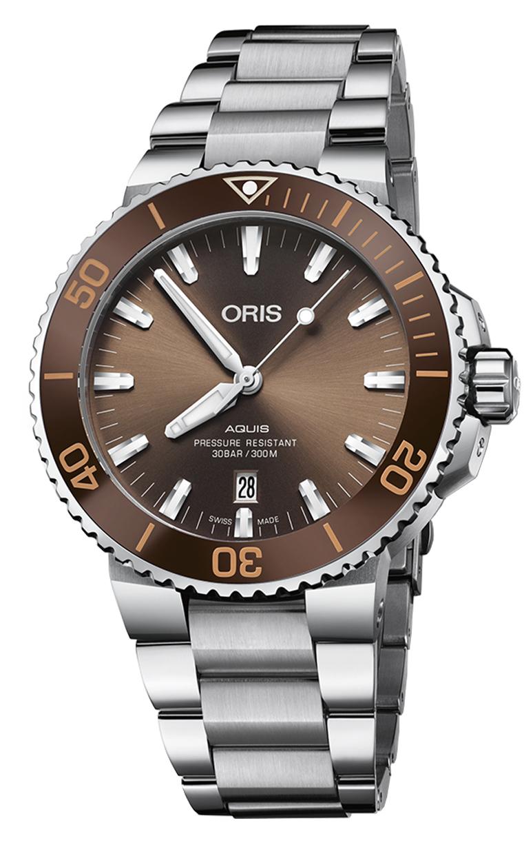 Часы Oris Diving Aquis Date 733.7730.4152 MB 8.24.05PEB