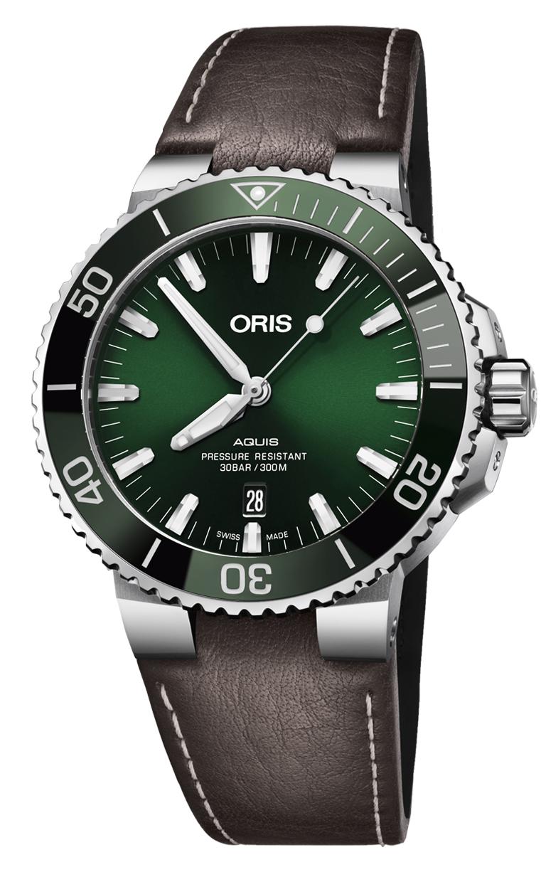 Часы Oris Diving Aquis Date 733.7730.4157 LS 5.24.10EB