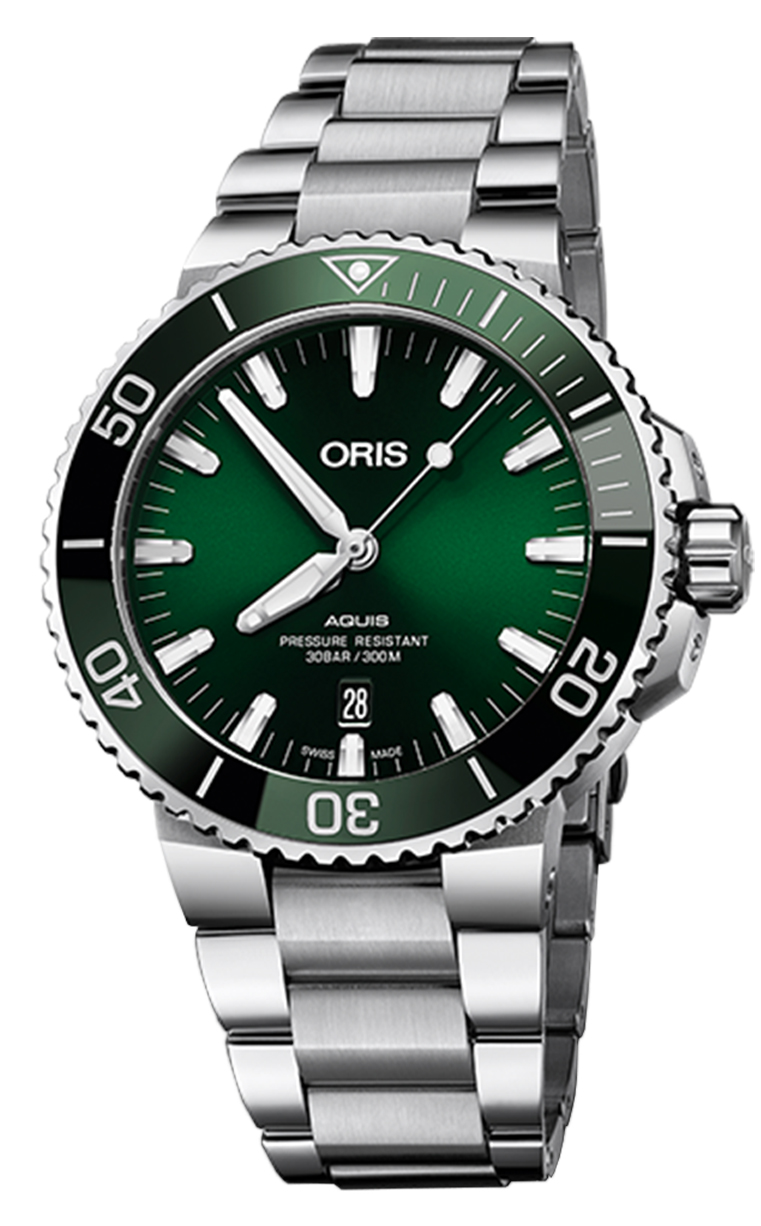 Oris Diving Aquis Date 733.7730.4157 MB 8.24.05PEB