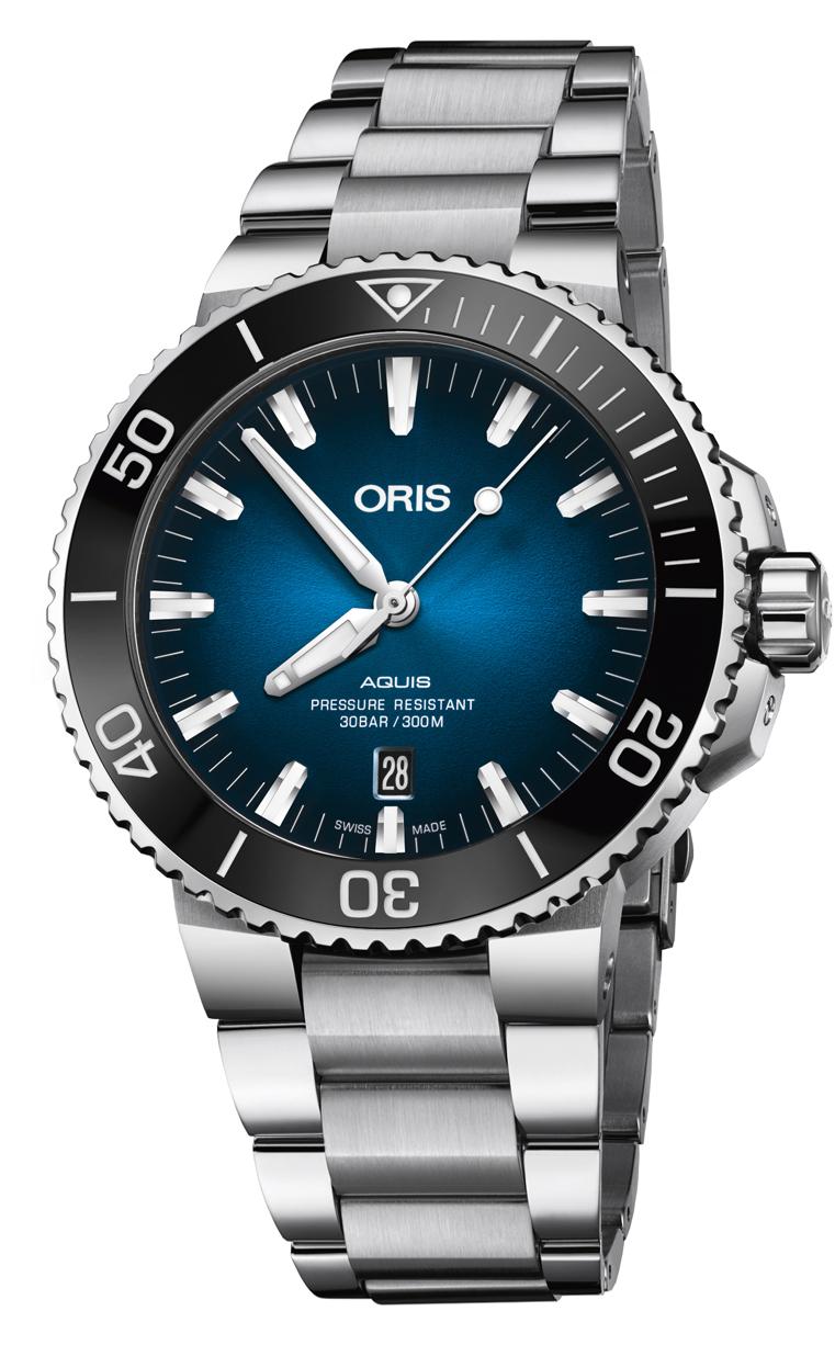 Часы Oris Diving Aquis Clipperton L.E. 733.7730.4185 Set MB