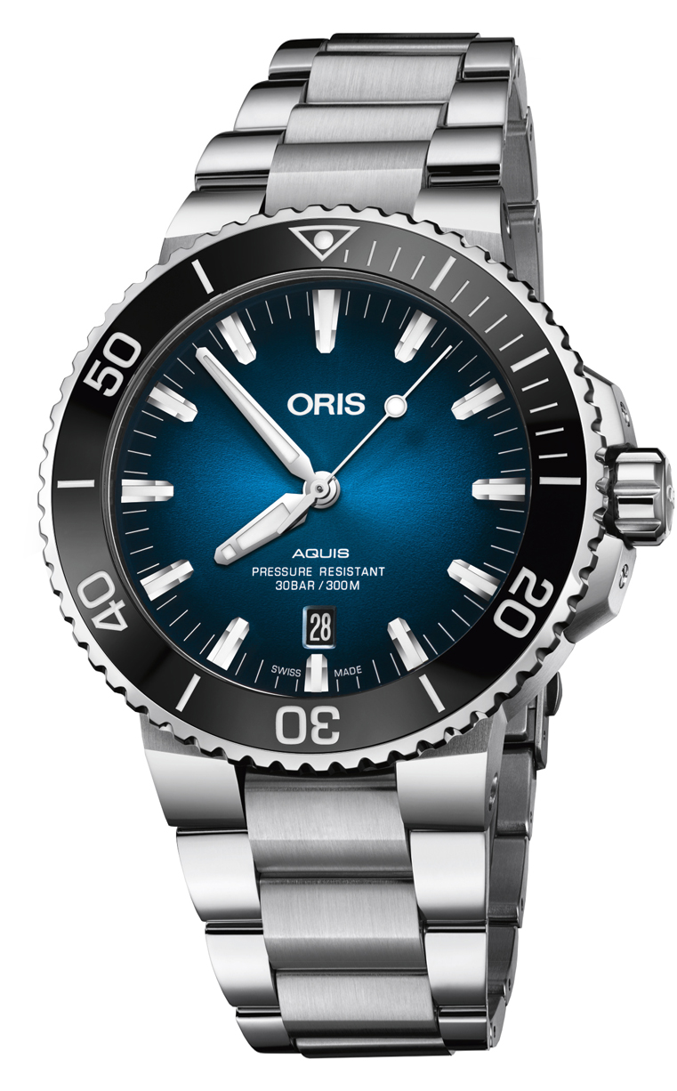 Часы Oris Diving Aquis Clipperton L.E. 733.7730.4185 Set MB