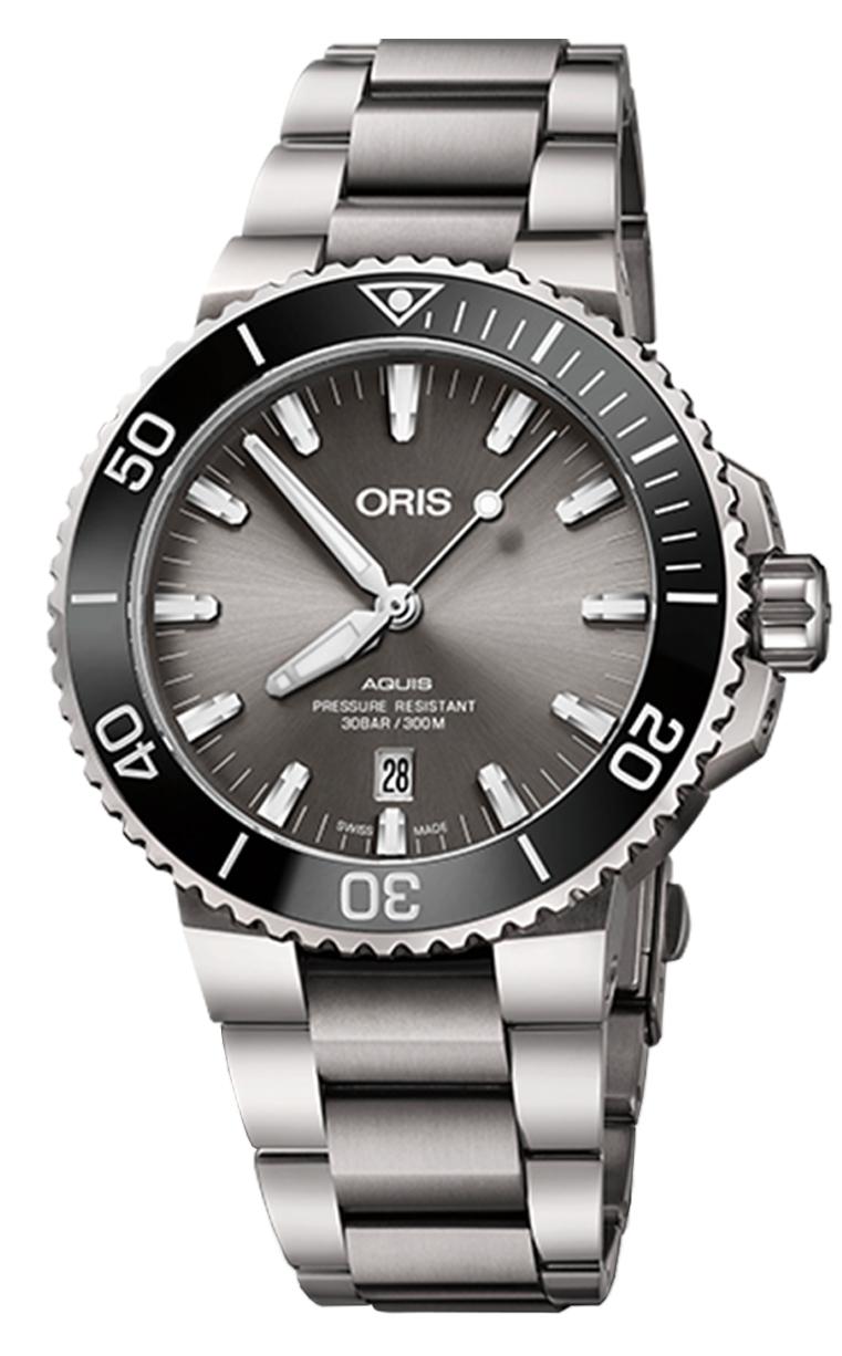 Oris Diving Aquis Titanium Date 733.7730.7153 MB 8.24.15PEB