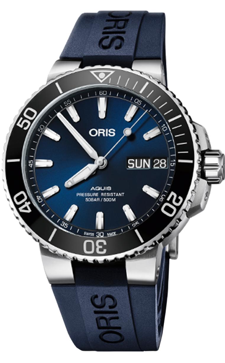 Часы Oris Diving Aquis Big Day Date 752.7733.4135 RS 4.24.65EB