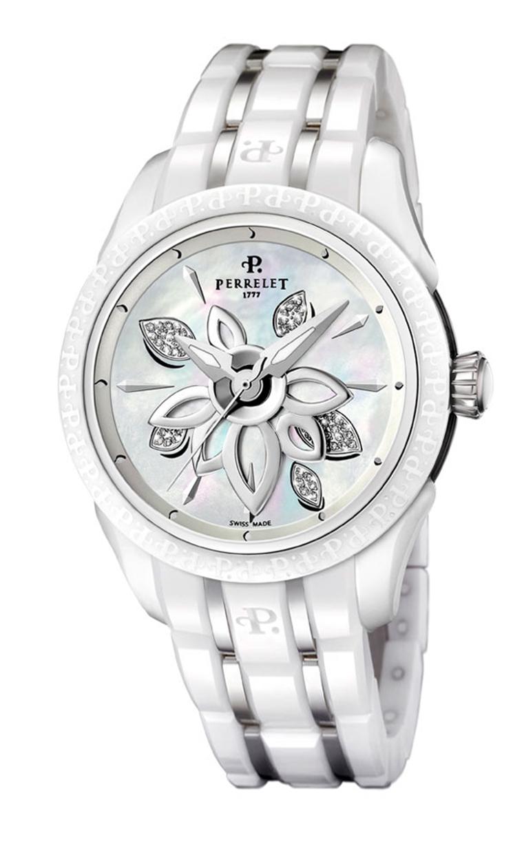 Часы Perrelet Diamond Flower Ceramic A2039/A
