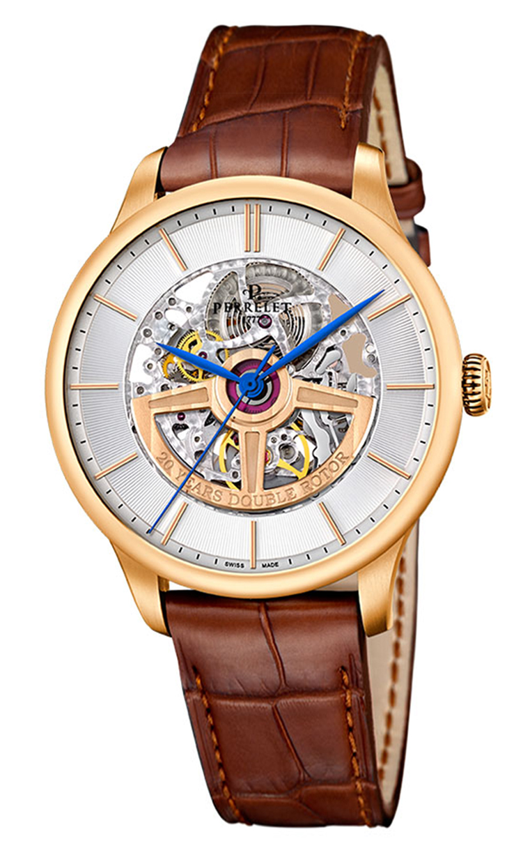 Часы Perrelet First Class Double Rotor Skeleton A3050/1